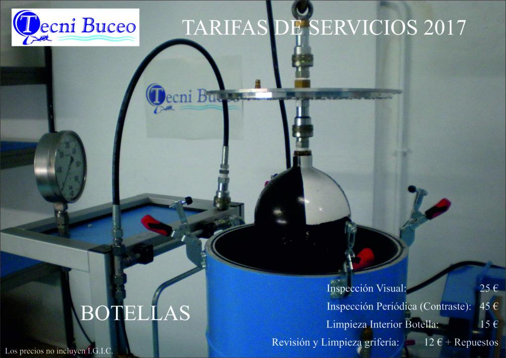 3 Tarifas INSPECCIÓN BOTELLAS TECNI BUCEO 2017